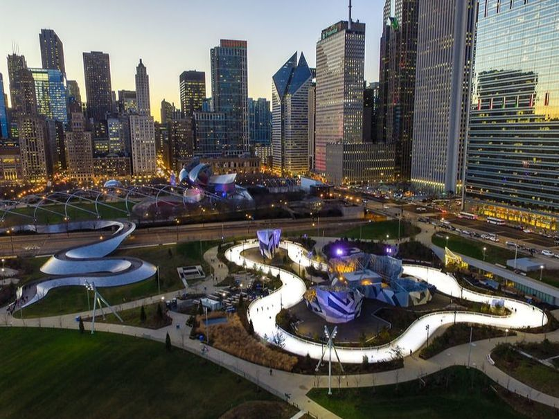 Maggie Daley Park Overhead View