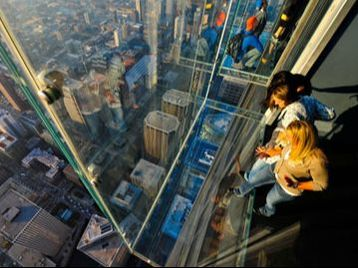 Skydeck Chicago with Guests