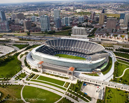 Soldier Field Overhead View
